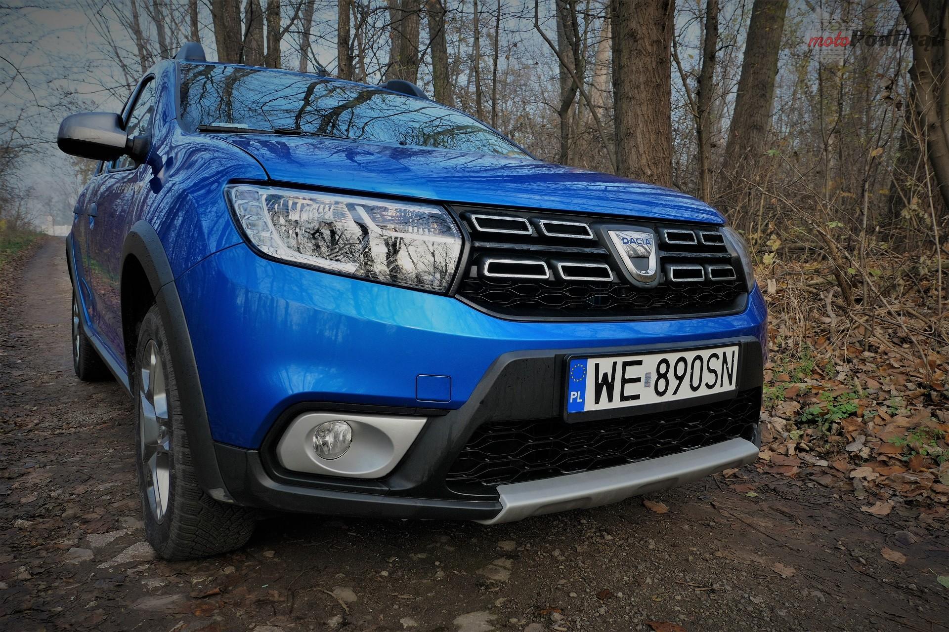 Dacia Sandero Stepway 5 Test: Dacia Sandero Stepway   w prostocie siła