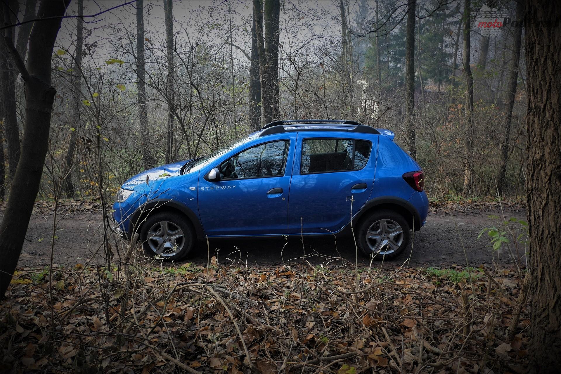 Dacia Sandero Stepway 6 Test: Dacia Sandero Stepway   w prostocie siła