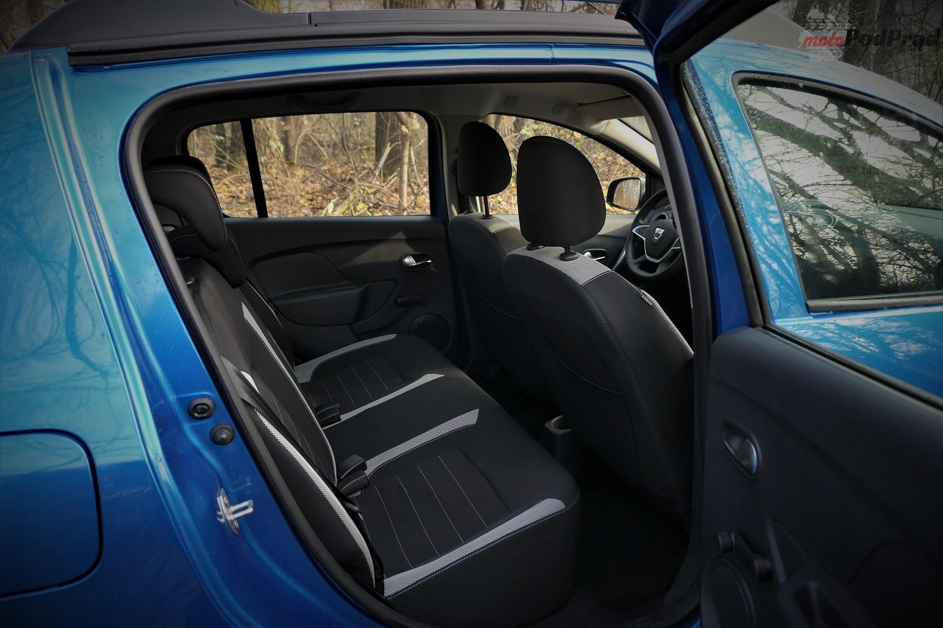 Dacia Sandero Stepway 8 Test: Dacia Sandero Stepway   w prostocie siła