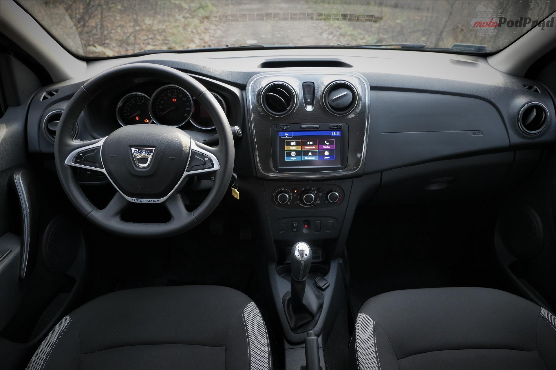 Dacia Sandero Stepway 9 Test: Dacia Sandero Stepway   w prostocie siła
