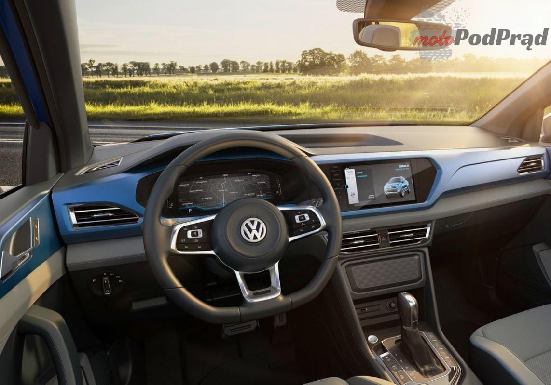Volkswagen Tarok 2 Nowy pickup Volkswagena   Tarok
