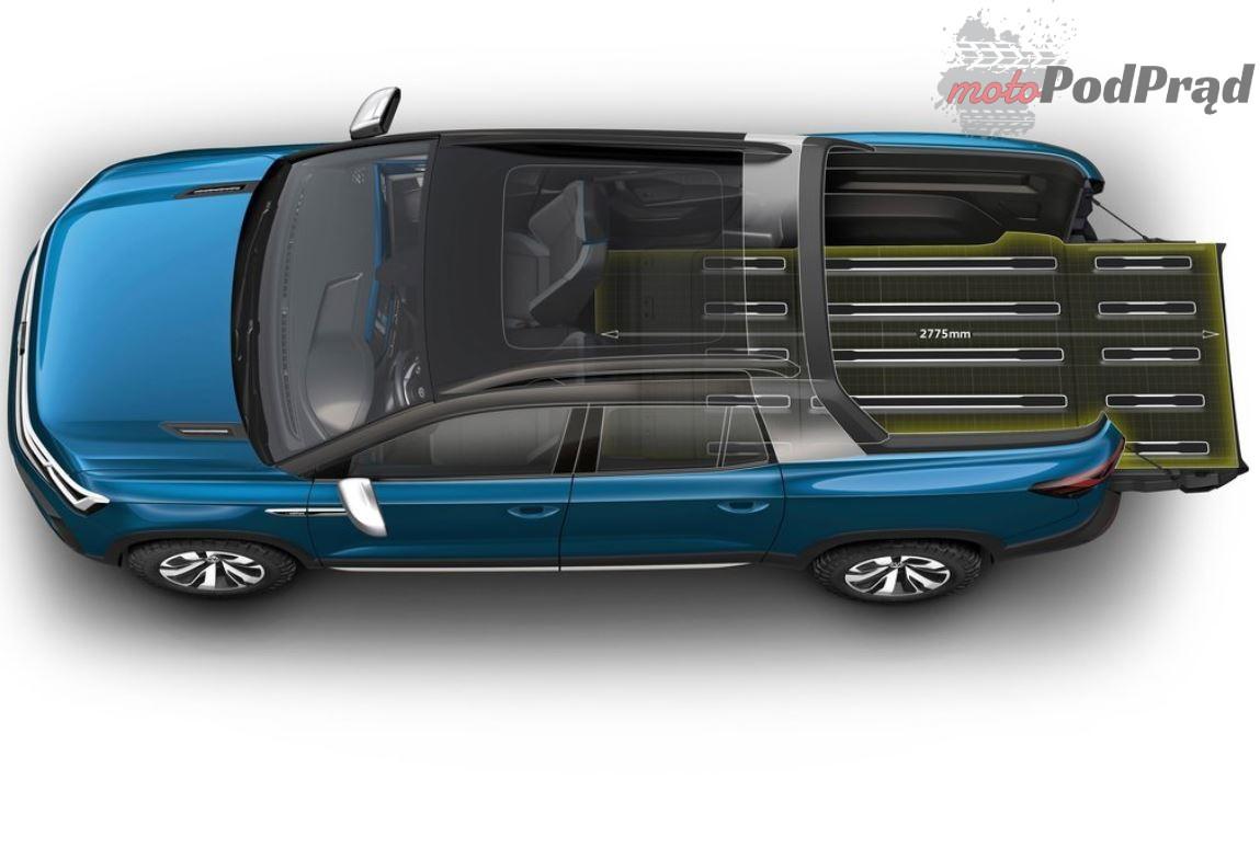 Volkswagen Tarok 3 Nowy pickup Volkswagena   Tarok