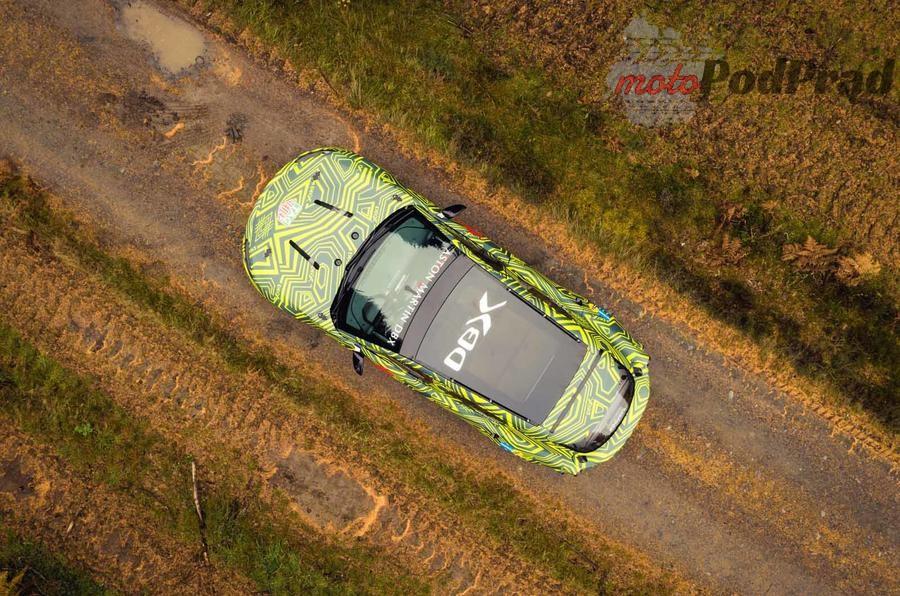aston martin dbx prototype 09 Aston Martin tworzy SUVa   DBX
