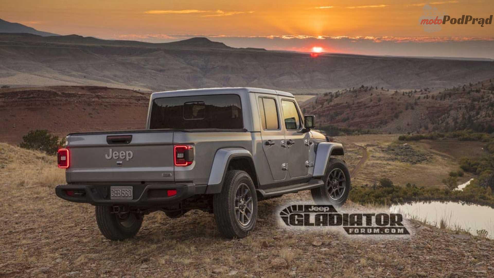 leaked jeep gladiator photos Oto nowy Jeep Gladiator. Dwa tygodnie przed premierą