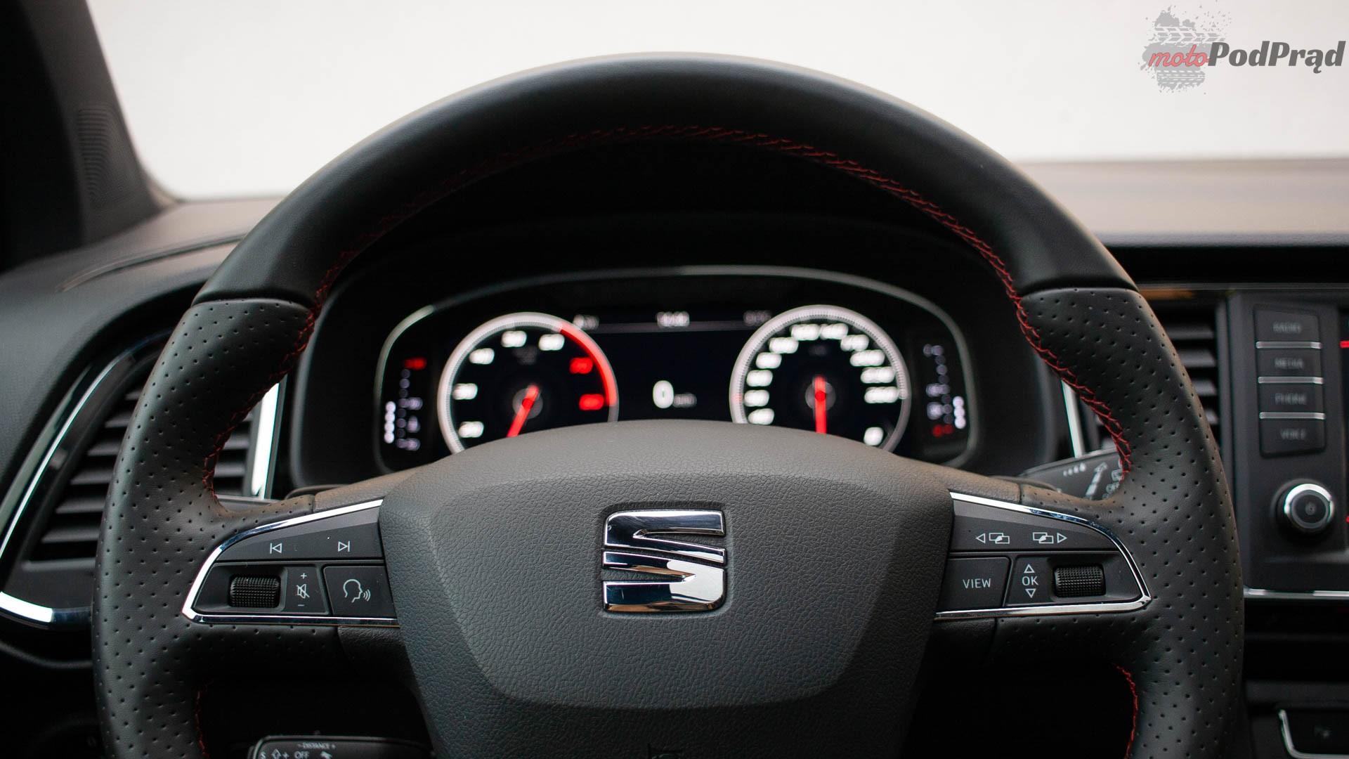 seat ateca 11 Test: Seat Ateca Fr 2.0 TSI 190 KM 4Drive – czy to ma sens?