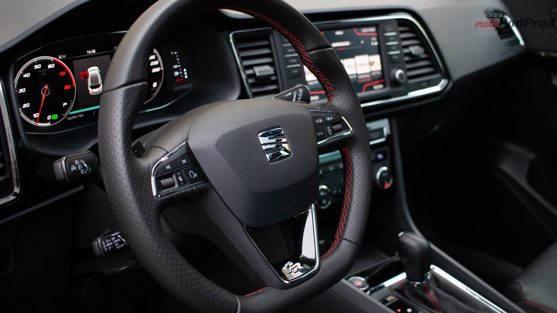 seat ateca 13 Test: Seat Ateca Fr 2.0 TSI 190 KM 4Drive – czy to ma sens?