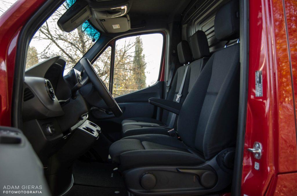 Mercedes Sprinter 24 1024x678 Mercedes Benz Sprinter 314 CDI – Dostawczakiem w XXI wiek