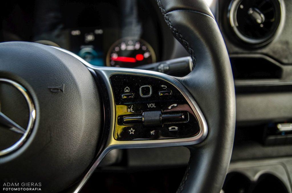 Mercedes Sprinter 7 1024x678 Mercedes Benz Sprinter 314 CDI – Dostawczakiem w XXI wiek