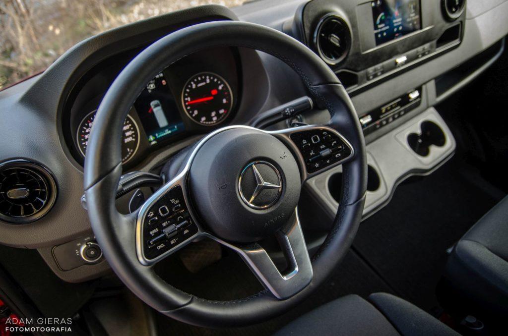 Mercedes Sprinter 8 1024x678 Mercedes Benz Sprinter 314 CDI – Dostawczakiem w XXI wiek