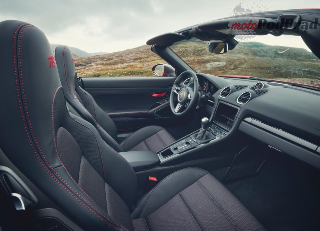 Porsche 718 Boxster T 2019 1600 07 1024x740 Porsche 718 Cayman T i Boxster T   dla purystów