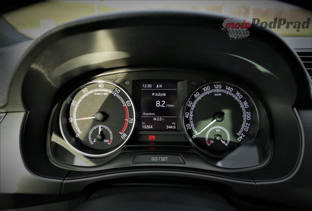 Skoda Fabia 15 1024x693 Test: Skoda Fabia 1.0 110 KM   stylowe trzy cylindry