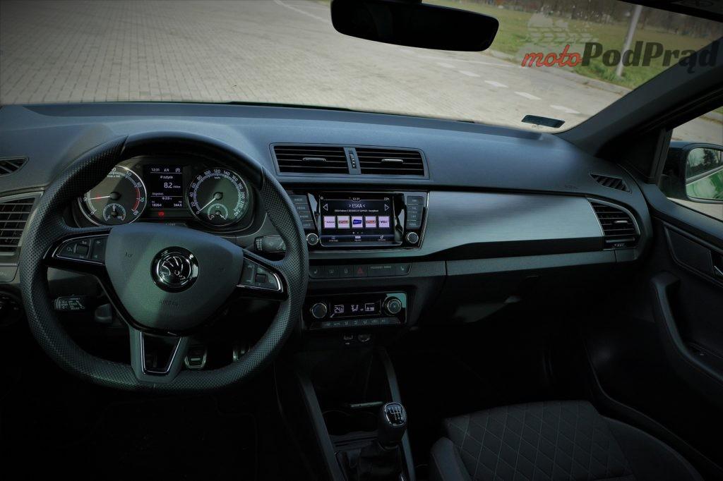 Skoda Fabia 20 1024x682 Test: Skoda Fabia 1.0 110 KM   stylowe trzy cylindry