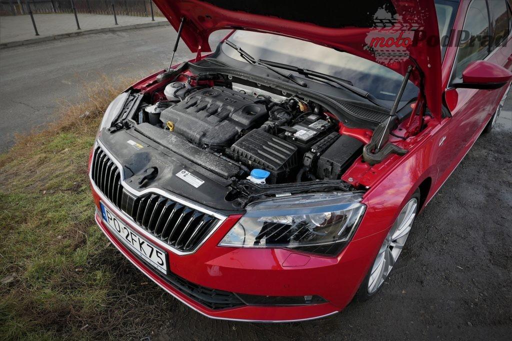 2. silnik 1024x682 TOP10 w Skodzie Superb 2.0 TDI 190 KM