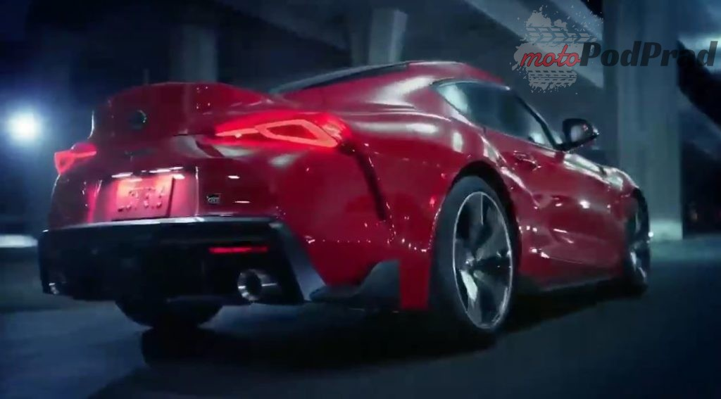 2019 01 11 11 18 09 2020 Toyota Supra Revealed YouTube 1024x567 Toyota GR Supra na filmie
