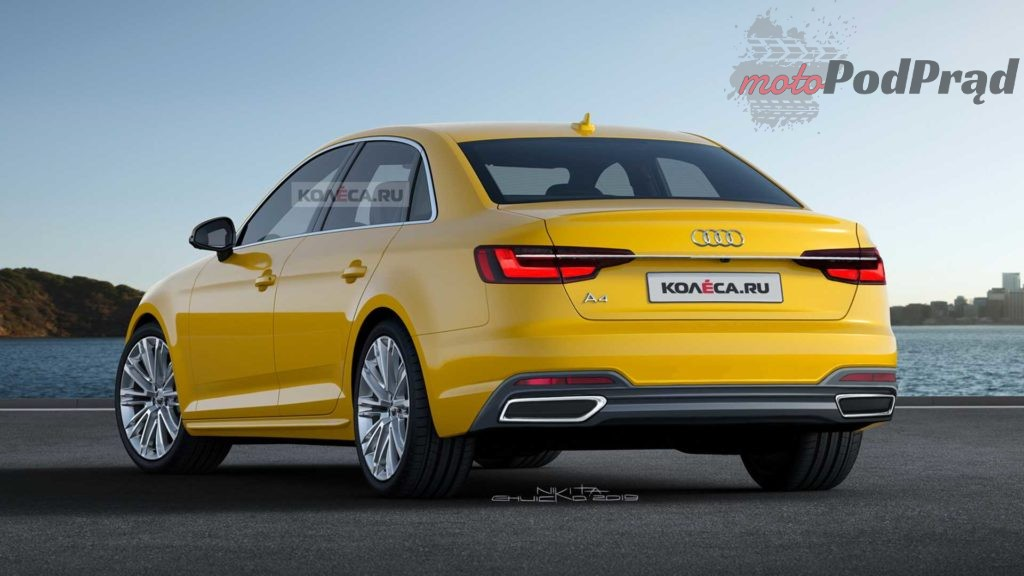 2020 audi a4 render 2 1024x576 Audi A4 przejdzie facelifting