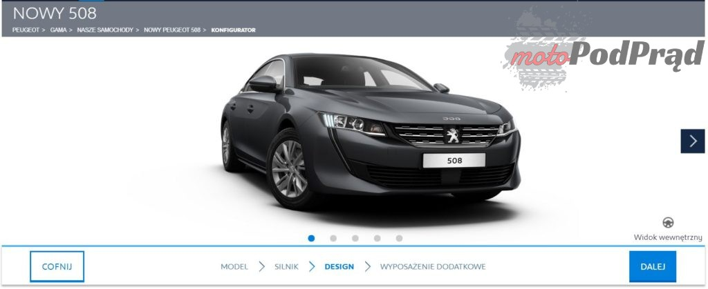 508active 1024x419 Nowy Peugeot 508   ile trzeba zapłacić za topowy egzemplarz?