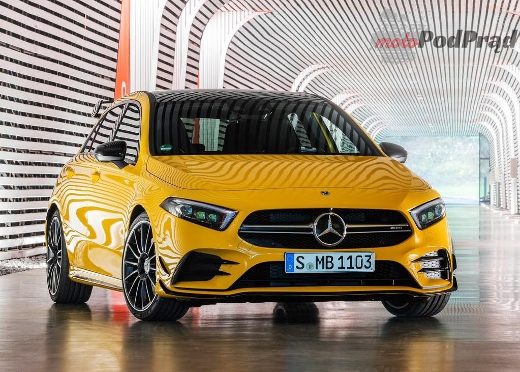 Mercedes Benz A35 AMG 4Matic 2019 1024 02 Przyszłość motoryzacji. Poteoretyzujmy.