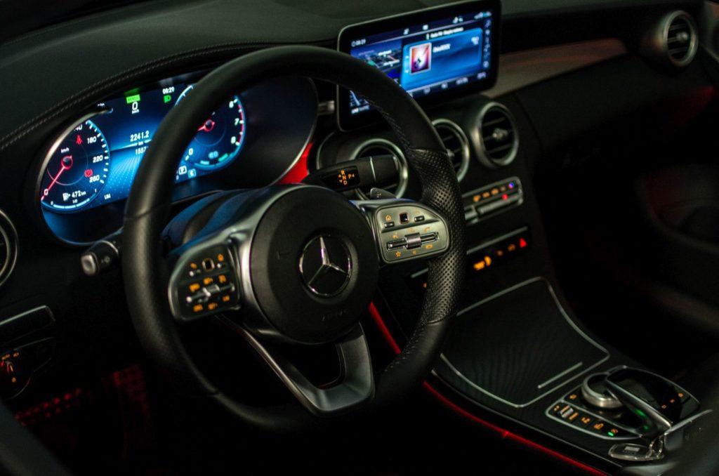 Mercedes Cklasa 10 1024x678 Test: Mercedes C 200 4MATIC EQ Boost   komforcie, gdzie jesteś?