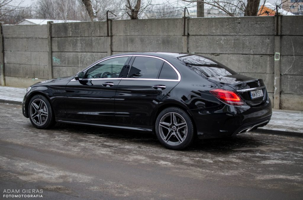 Mercedes Cklasa 12 1024x678 Test: Mercedes C 200 4MATIC EQ Boost   komforcie, gdzie jesteś?