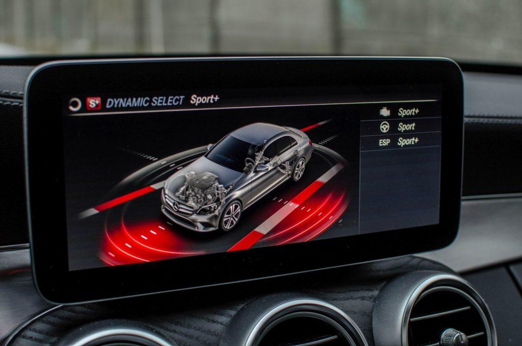 Mercedes Cklasa 15 1024x678 Test: Mercedes C 200 4MATIC EQ Boost   komforcie, gdzie jesteś?