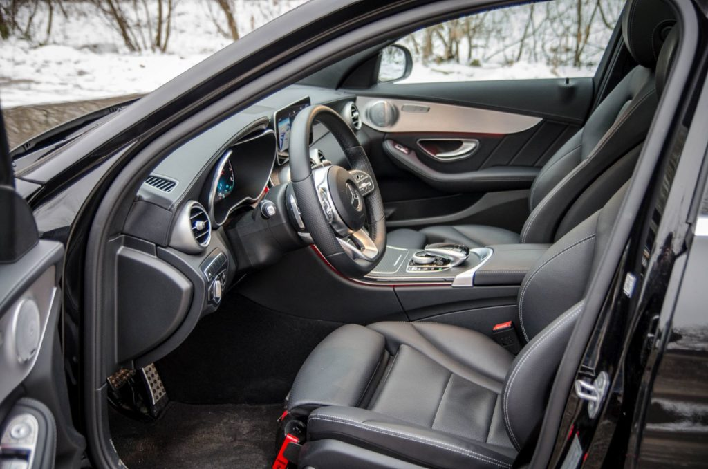 Mercedes Cklasa 34 1024x678 Test: Mercedes C 200 4MATIC EQ Boost   komforcie, gdzie jesteś?