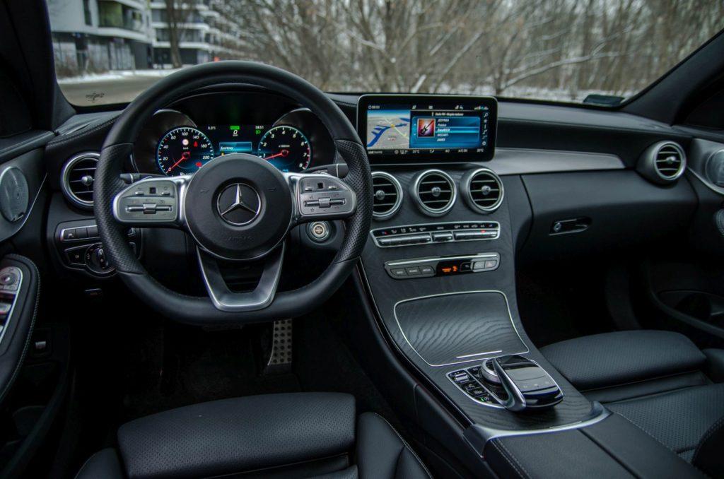 Mercedes Cklasa 36 1024x678 Test: Mercedes C 200 4MATIC EQ Boost   komforcie, gdzie jesteś?