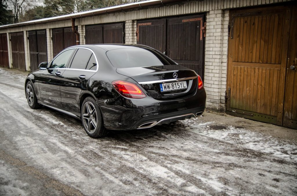 Mercedes Cklasa 38 1024x678 Test: Mercedes C 200 4MATIC EQ Boost   komforcie, gdzie jesteś?