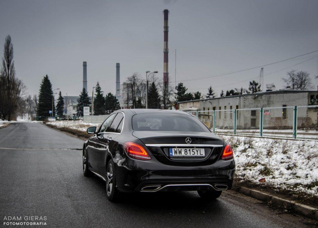 Mercedes Cklasa 39 1024x734 Test: Mercedes C 200 4MATIC EQ Boost   komforcie, gdzie jesteś?