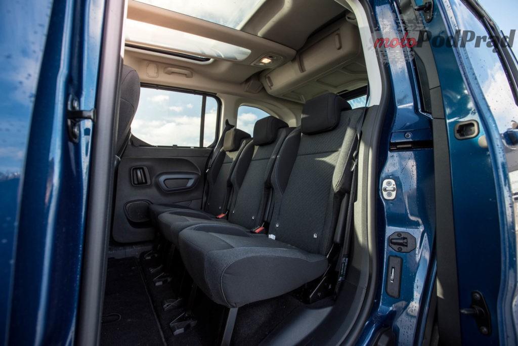 Peugeot Rifter 2 1024x684 Test: Peugeot Rifter Allure — dla rodzica i prywaciarza