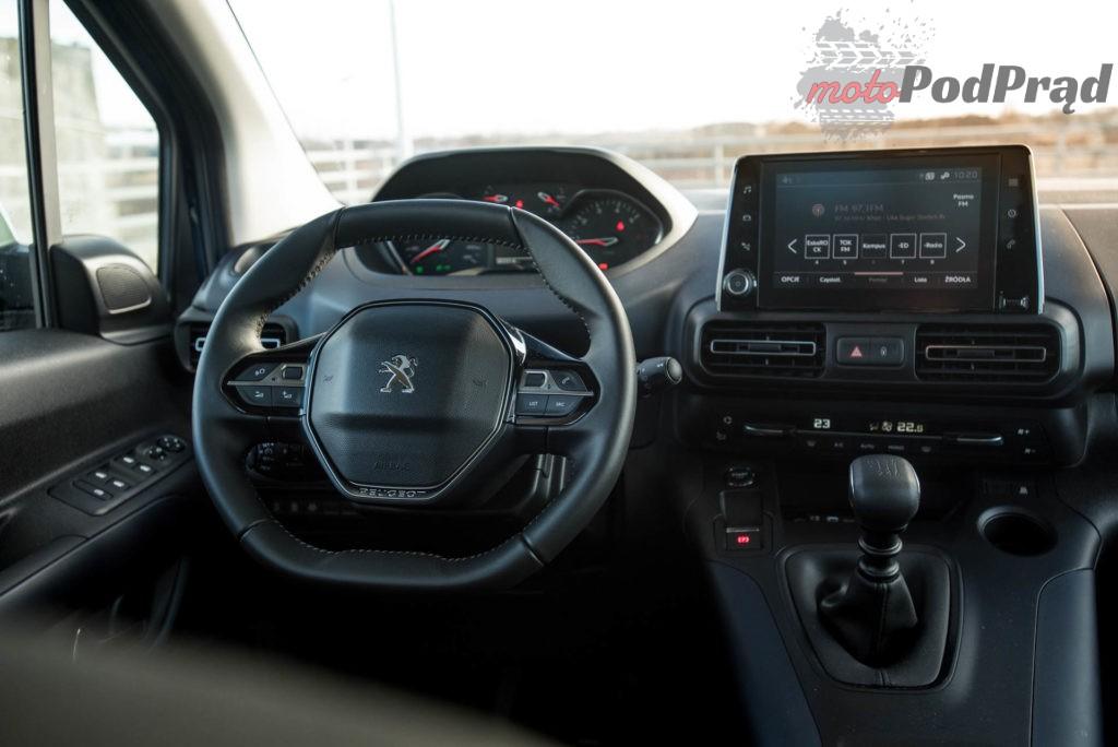Peugeot Rifter 5 1024x684 Test: Peugeot Rifter Allure — dla rodzica i prywaciarza