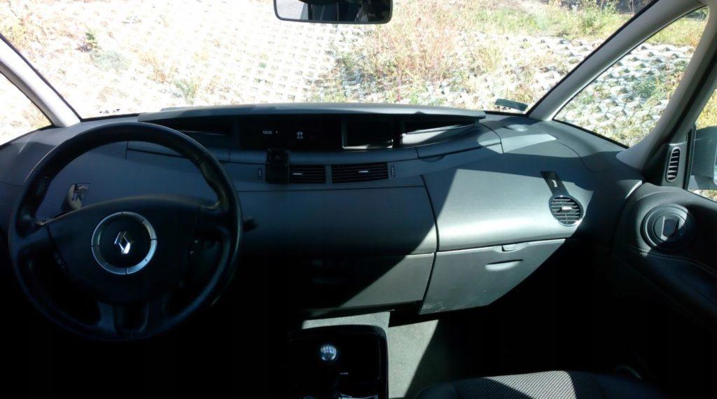 espace wnetrze 1024x570 Znalezione: Renault Espace 2.0 Turbo   przyjemny autobus