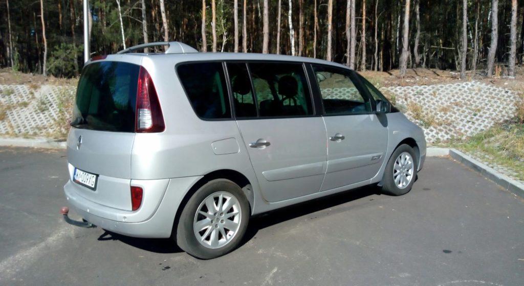 espece tył 1024x560 Znalezione: Renault Espace 2.0 Turbo   przyjemny autobus