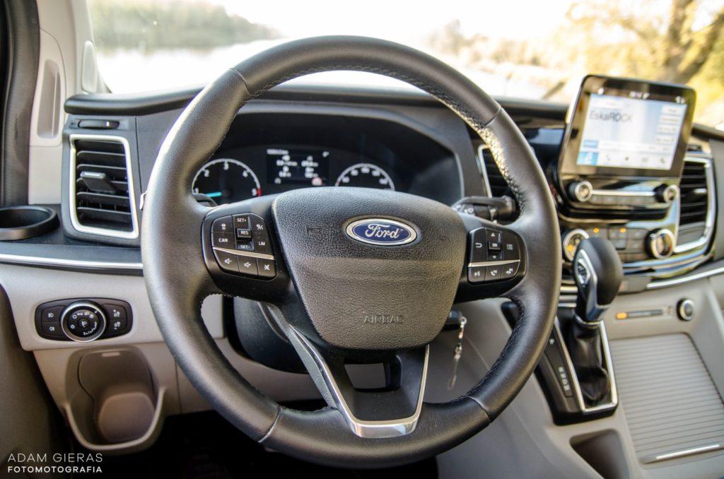 ford 21 1024x678 Test: Ford Tourneo Custom   8 osób lub tysiąc małych rzeczy