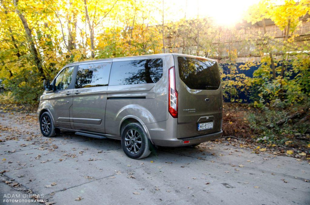 ford 35 1024x678 Test: Ford Tourneo Custom   8 osób lub tysiąc małych rzeczy