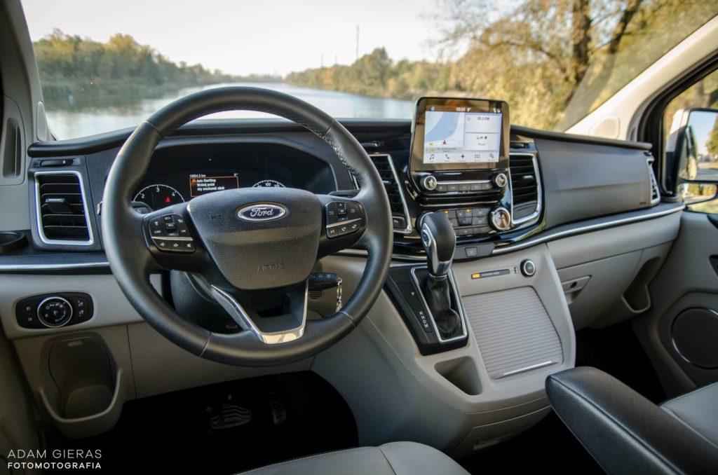 ford 6 1024x678 Test: Ford Tourneo Custom   8 osób lub tysiąc małych rzeczy