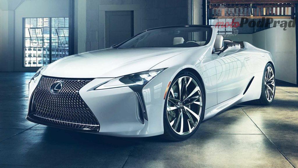 lexus lc convertible concept 1024x576 Lexus LC Convertible   na bulwar i na tor