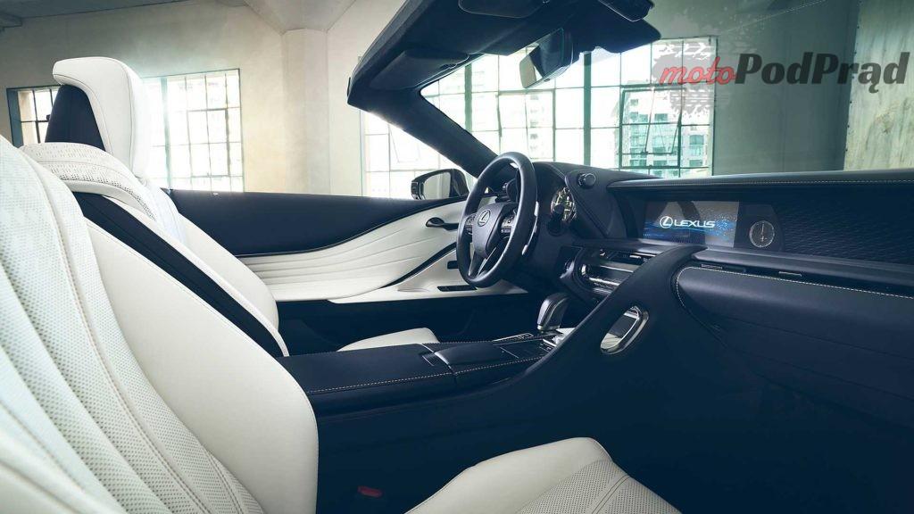lexus lc convertible concept 2 1024x576 Lexus LC Convertible   na bulwar i na tor