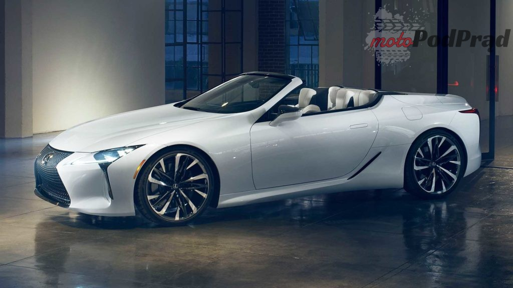 lexus lc convertible concept 4 1024x576 Lexus LC Convertible   na bulwar i na tor