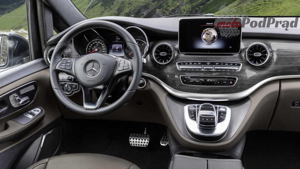 mercedes benz new v class 1 1024x576 Mercedes klasy V przeszedł facelifting