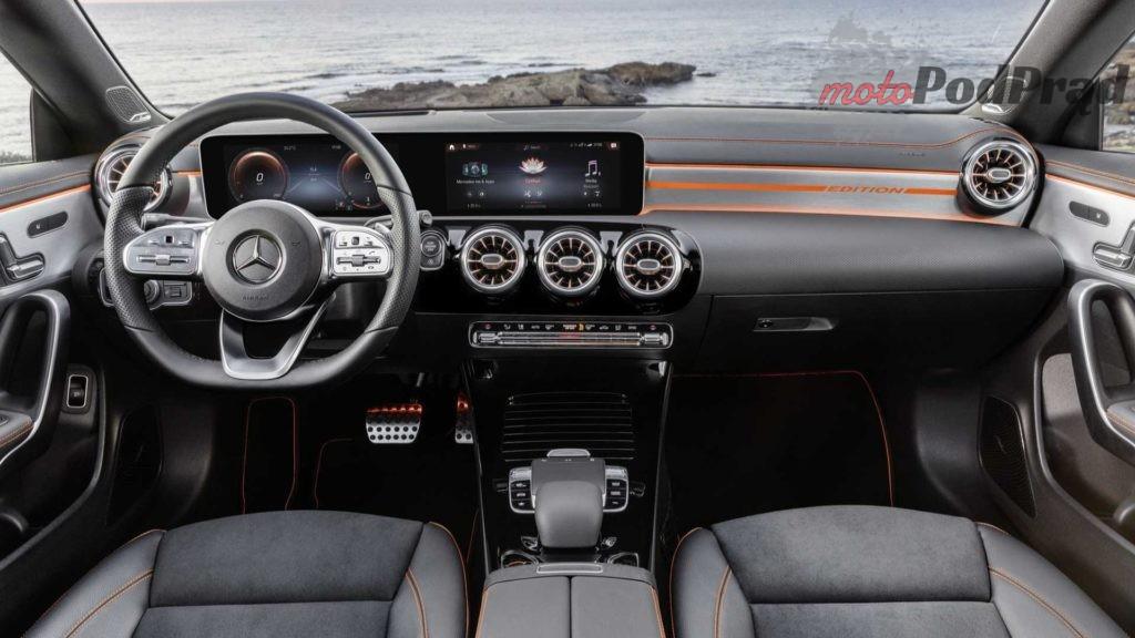 nuova mercedes cla 5 1024x576 Nowy Mercedes CLA stawia na inteligentne rozwiązania