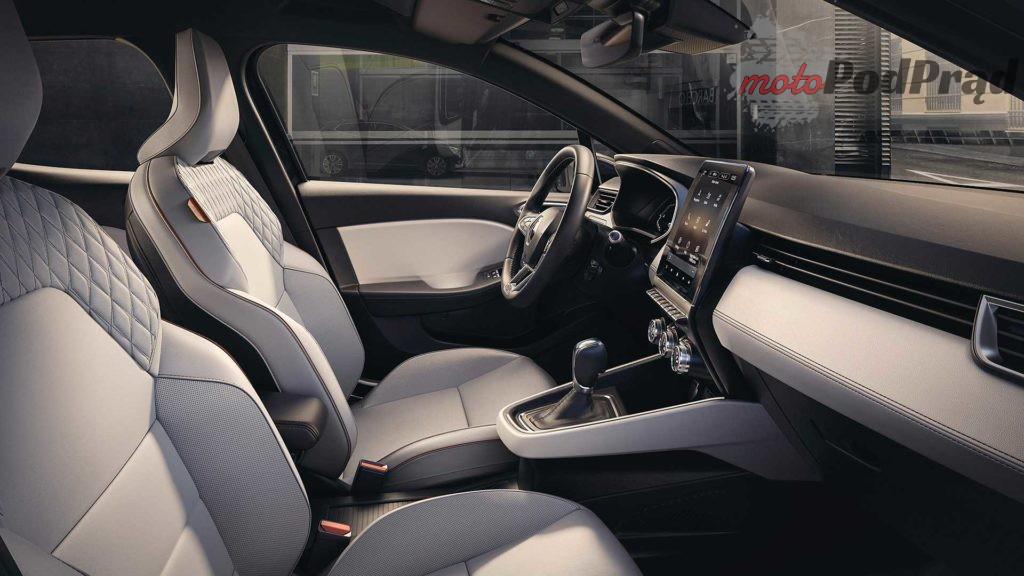 renault clio 2019 interior 1 1024x576 Wiemy jak wygląda wnętrze nowego Clio
