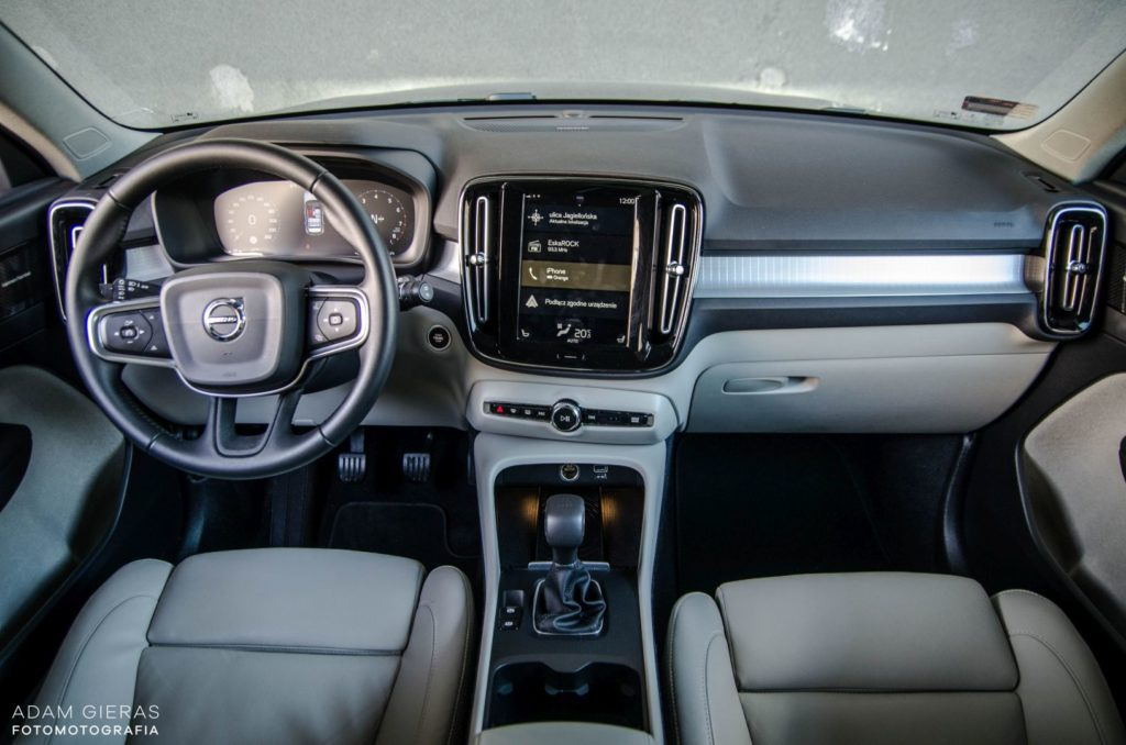 volvo moment 27 1024x678 Minitest: Volvo XC40   to się sprzeda