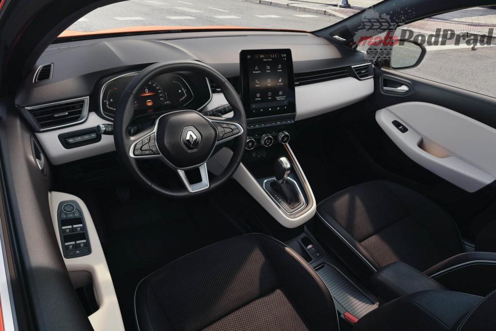 Renault Clio wnetrze 2 1024x683 Nowe Renault Clio   oficjalne zdjęcia