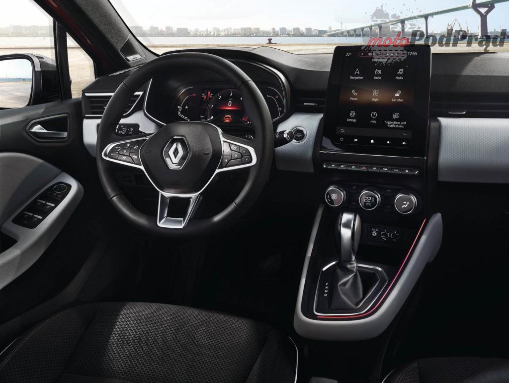 Renault Clio wnetrze 3 1024x770 Nowe Renault Clio   oficjalne zdjęcia