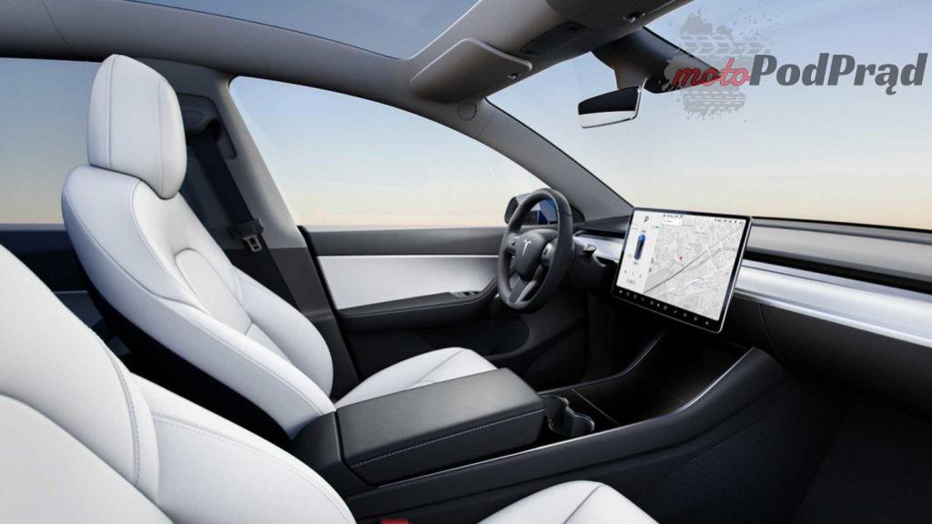 2021 tesla model y interior 1024x576 Tesla Model Y   elektryczny SUV, na którego cię stać...