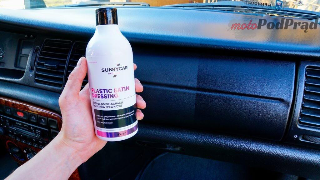 Plastic satin dressing 1024x576 Ile warte są kosmetyki premium? Sprawdzamy Sunnycar Detailing