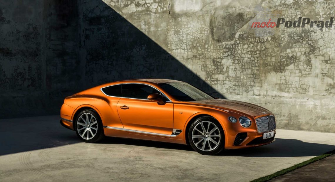 nowy bentley v8