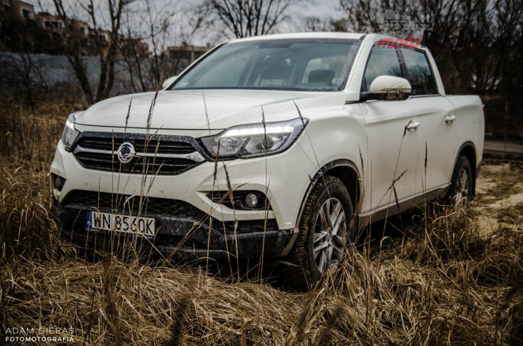 musso pickup 15 1024x678 Test: SsangYong Musso   pickup dobry na co dzień