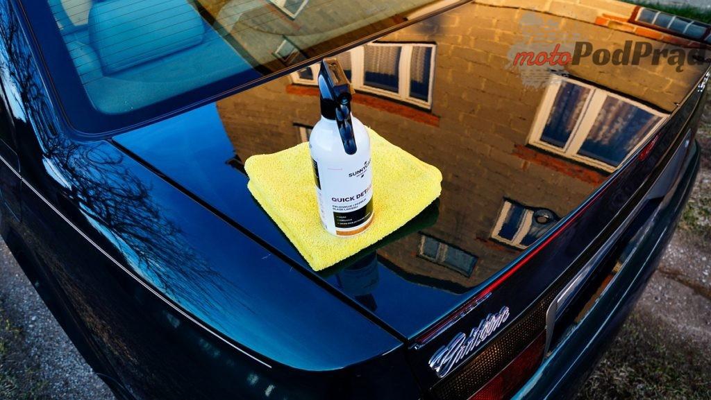 quick detailer 1024x577 Ile warte są kosmetyki premium? Sprawdzamy Sunnycar Detailing