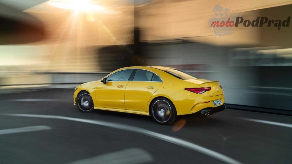 2020 mercedes amg cla 35 coupe 4 1024x576 Nowy Mercedes CLA 35 AMG   o krok przed A 35